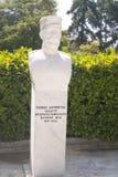 Kosmas Doumpiotis. Statue of Kosmas Doumpiotis, the military leader of the 1878 uprising, in Litohoro Royalty Free Stock Photos