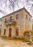 In Kosmas village in Greece Royalty Free Stock Photography