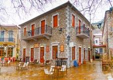 In Kosmas village in Greece Royalty Free Stock Photos