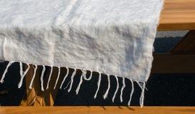 kosmata woolen tkanina jako tkaniny tekstury tło fotografia royalty free