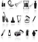 Kosmetik, bilden Ikonen Lizenzfreies Stockfoto
