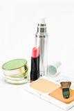 Kosmetik der schönen Farbe für Frauen Stockbilder