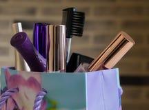 Kosmetik eingestellt Lizenzfreie Stockfotos