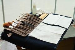 Kosmetik-Instrumente stockfoto