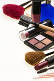 Kosmetik - Make-up Stockbild