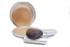 Kosmetik-Puder stockbild
