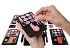 Kosmetik-Satz Stockbild