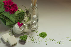 Kosmetik und Badekurort Lizenzfreies Stockbild