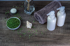 Kosmetik und Badekurort Stockbilder