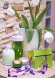Kosmetik und jewelery Lizenzfreies Stockfoto