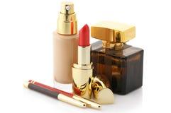 Kosmetiksatz Lizenzfreie Stockfotografie