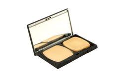 Kosmetisch Compact Poeder Stock Fotografie