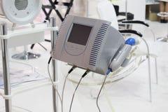 Kosmetisch materiaal voor schoonheidssalons Apparaten voor needleless mesotherapy stock fotografie