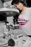 Kosmetisch meisje Stock Afbeeldingen