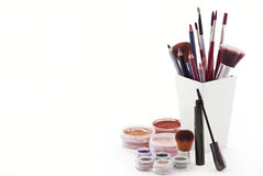 Kosmetische Artikel stockfotografie