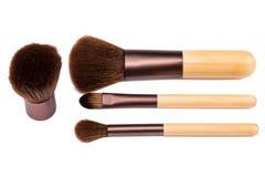 Kosmetische Bürsten Lizenzfreies Stockfoto