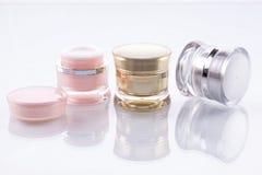 Kosmetische Behälter Stockfotografie