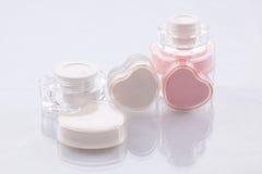 Kosmetische Behälter Lizenzfreie Stockfotos
