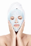 Kosmetische Behandlung Lizenzfreies Stockfoto