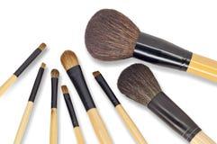 Kosmetische borstel Royalty-vrije Stock Foto