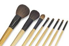 Kosmetische borstel stock afbeelding