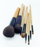 Kosmetische borstel stock fotografie