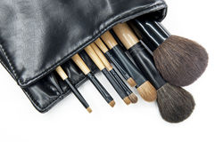 Kosmetische borstel Stock Foto