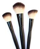 Kosmetische borstels Royalty-vrije Stock Afbeelding
