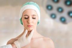 Kosmetische chirurgie Stock Fotografie