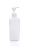 Kosmetische Container op Witte Achtergrond Royalty-vrije Stock Foto's