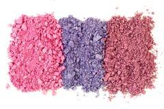 Kosmetische Farben Lizenzfreie Stockbilder