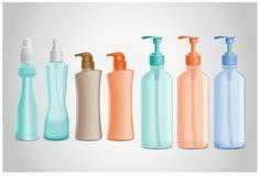 Kosmetische fles Royalty-vrije Stock Afbeelding
