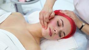 Kosmetische geneeskunde, massage stock footage