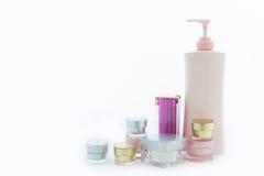 Kosmetische huidzorg Stock Foto's