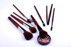 Kosmetische hulpmiddelen Stock Foto's