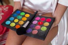 Kosmetische hulpmiddelen stock afbeeldingen