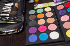 Kosmetische hulpmiddelen royalty-vrije stock fotografie