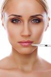 Kosmetische injectie Royalty-vrije Stock Foto's