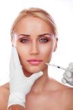 Kosmetische injectie Royalty-vrije Stock Foto