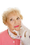 Kosmetische Injectie - Mond Royalty-vrije Stock Fotografie