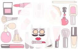 Kosmetische Marke oder Make-up Lizenzfreies Stockfoto