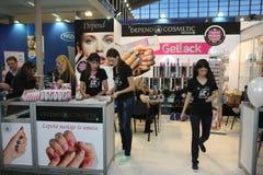Kosmetische markt stock afbeelding