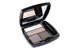 Kosmetische oogschaduw Stock Foto's