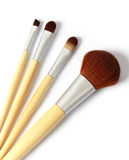 Kosmetische Pinsel Lizenzfreie Stockfotos