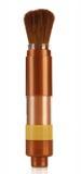 Kosmetische poederborstel Royalty-vrije Stock Afbeeldingen