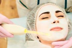 Kosmetische procedure stock fotografie