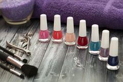 kosmetische Produkte Stockfotos