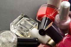 kosmetische Produkte Lizenzfreie Stockfotografie