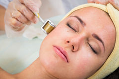 Kosmetische Prozedur stockfoto