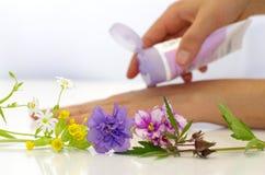 Kosmetische room voor de huid Stock Foto's